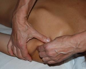 Pétrissage du deltoïde